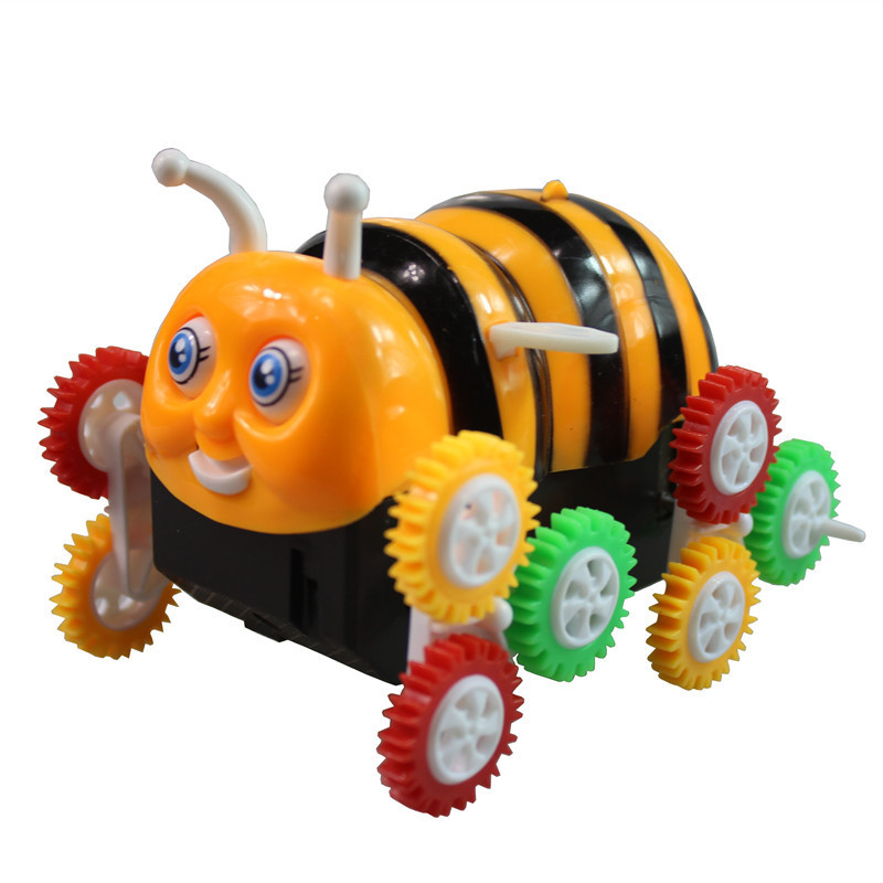 Bees Dump Truck Stunt Roll Small Bees Crawler Somersault CHILDREN'S Electric Toy Car