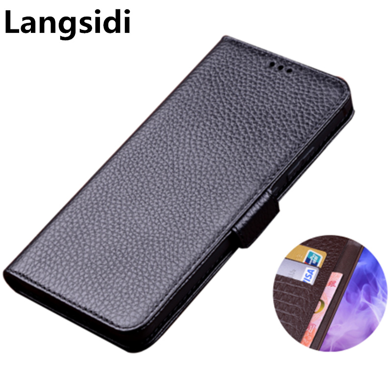 Business genuine leather side magnetic buckle wallet phone case  card holder for Samsung Galaxy A10 A30 A40 A50 A60 A70 phone bagFlip  Cases