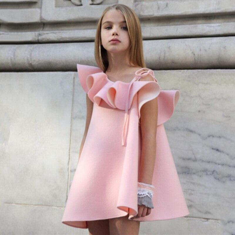 Geckatte/новая одежда для маленьких девочек; Детские платья для девочек; платья для маленьких девочек; летнее платье; кружевное платье принцессы с цветочным узором; платье для девочек|Платья|   | АлиЭкспресс