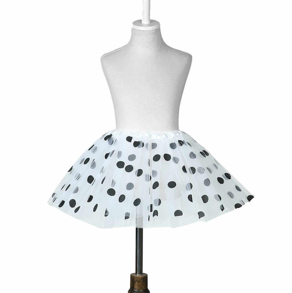 Meisjes Rokken 2020 Nieuw Aangekomen Peuter Kids Meisjes Baby Polka Dot Tutu Rok Goedkope Rok Tulle Ballet Rok Outfits Kostuum # D19