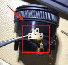 De segunda mano para NIKKOR 18 55 II VR de enfoque automático Sensor AF GMR unidad para Nikon 18 55mm F3.5 5.6G VR II AF S DX lente de repuesto