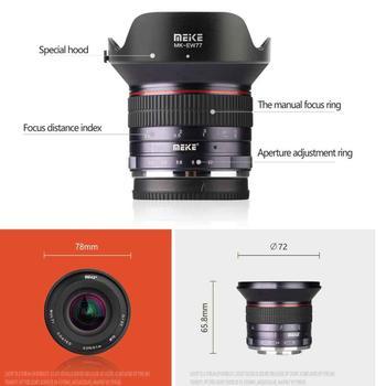 Meike 12mm F2.8 Wide Angle Lens APS-C Manual Focus Lens for Nikon FUJI Sony Canon M43