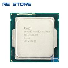 사용 인텔 제온 E3 1240 V3 프로세서 3.40GHz 8M 캐시 SR152 LGA1150 E3 1240v3 CPU