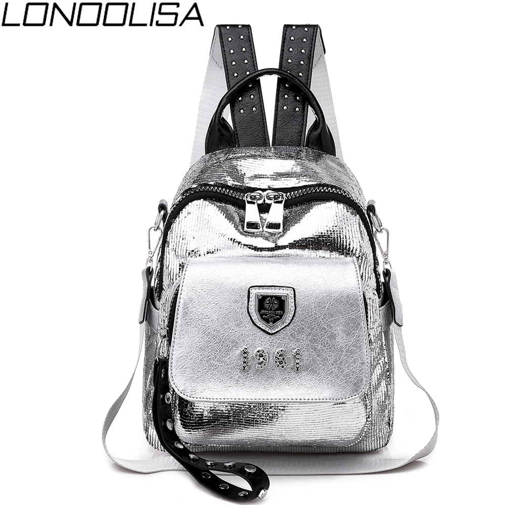 New Fashion Backpack Women High Quality Soft PU Leather School Bags For Teenage Girls 3 In 1 Ladies Travel Backpack Sac A Dos
