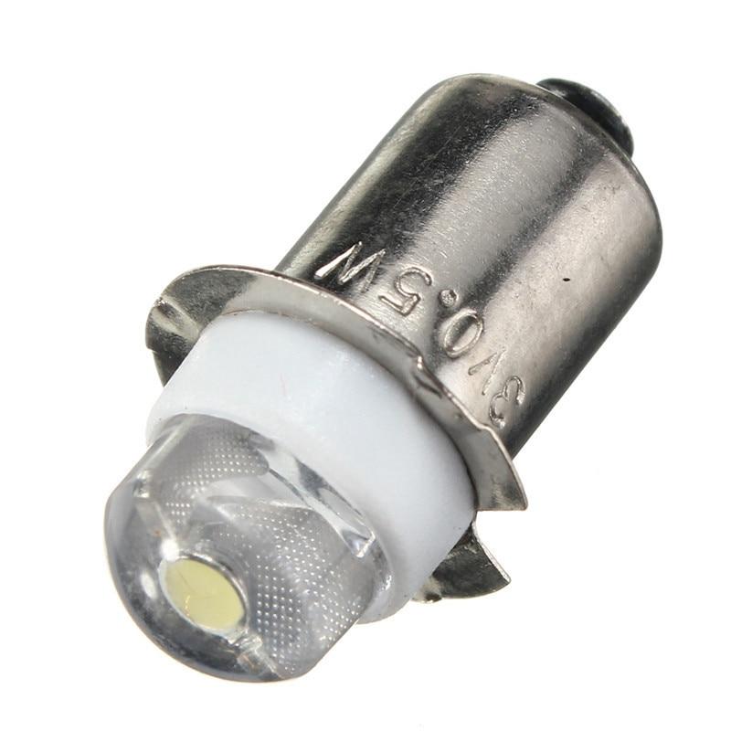 LED For Focus Flashlight Replacement Bulb P13.5S PR2 0.5W Led Torches Work Light Lamp 60-100Lumen DC 3V 4.5V 6V Warm/Pure White