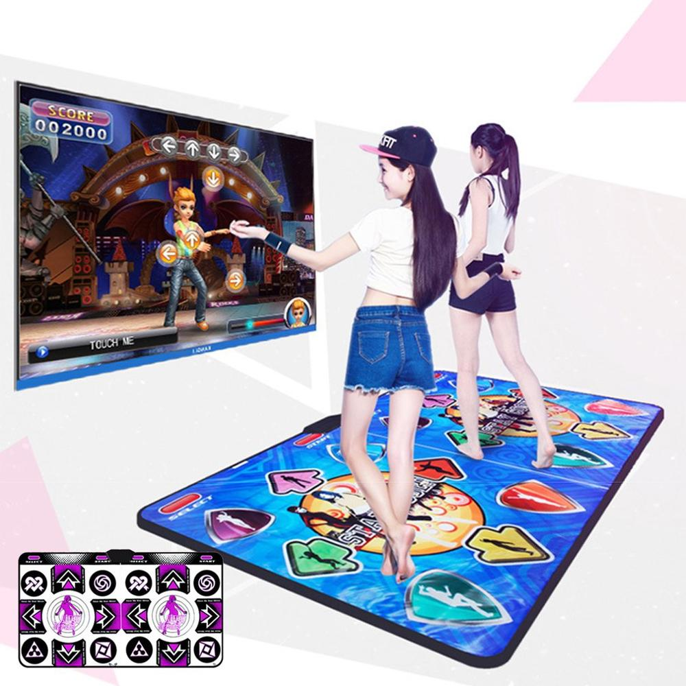 In Stock! Hd <font><b>Dance</b></font> Blanket Double Tv Interface Computer Dual-Use Somatosensory Game <font><b>Dance</b></font> Usb Move Electronic Musical <font><b>Dance</b></font> Pad image