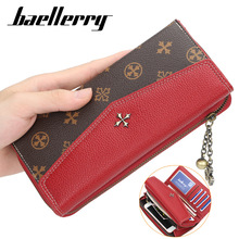 Baellerry 2020 Long Women Wallets Sequined Top Quality PU Fe
