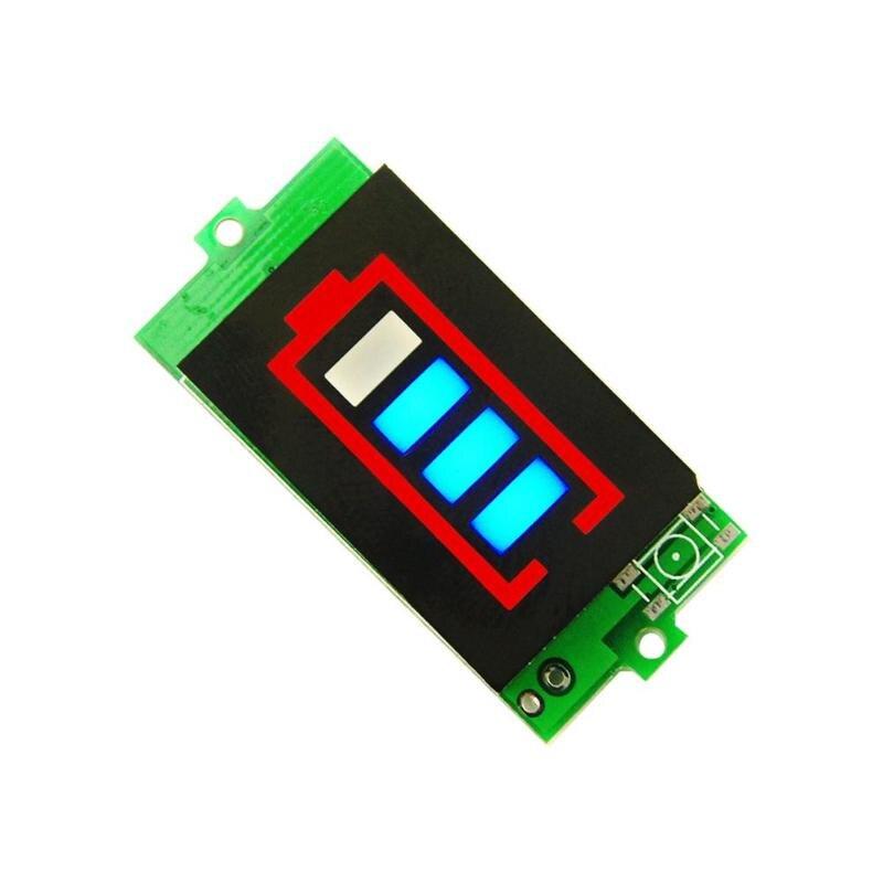 Тестер батареи BMS Щит защиты печатной платы литиевая батарея индикатор емкости модуль типа батареи дисплей количества электроэнергии