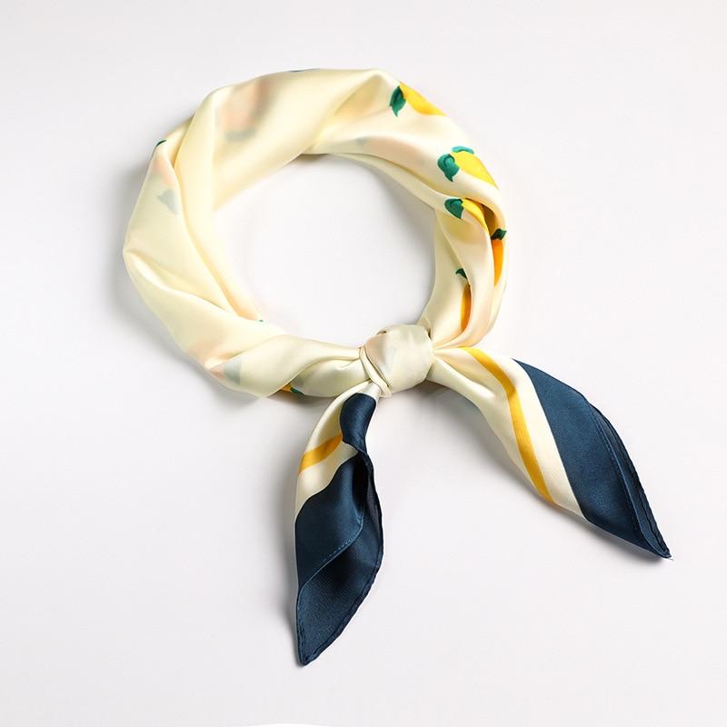 Women/'s Small Scarf Fashion Giraffe Print Stewardess Neck Hair Tie Band 70*70cm