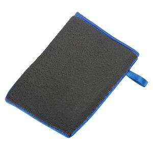 Image 4 - LEEPEE guantes de lana Artificial para lavado de coches, accesorio de lana Artificial con arcilla mágica, absorción de agua, cuidado automático