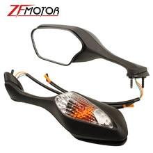 Lusterka wsteczne motocyklowe z światło kierunkowskazu LED lampa dla Honda CBR1000RR CBR 1000 RR 2008-2013 ABS lusterka wsteczne