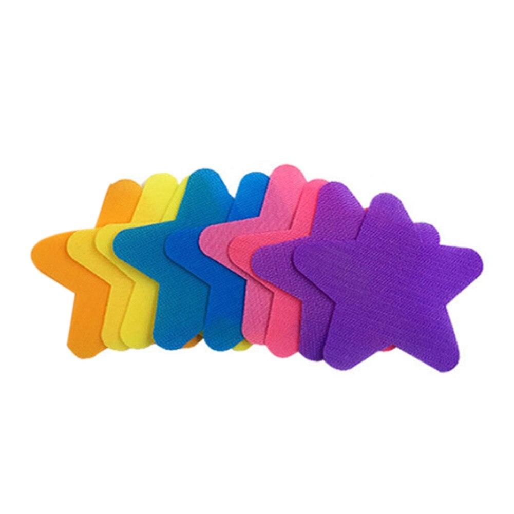 30pcs Kindergarten Stars Carpet Marker  Funny Random Color Kids Nylon Educational Eco Friendly Spot Teachers Classroom