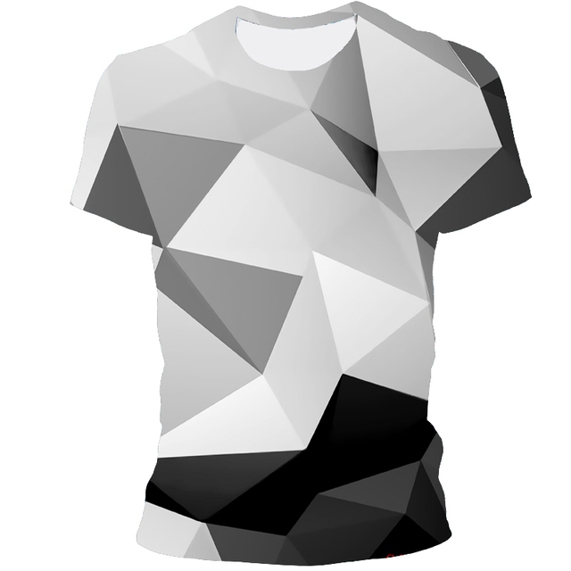 Мужская футболка 3D принтом чёрная дыра 2