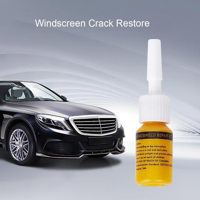 Car Window Phone Screen Repair Kit Glass Curing Glue Auto Glass Scratch Crack Restore Car Windshield Cracked Repair Tool DIY 1