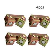 4 шт Магнитный Тип зажимы v образной формы сварочный держатель
