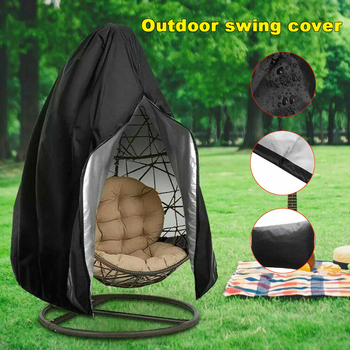 Waterproof Patio Chair Cover Egg Swing Dust Protector With Zipper Protective Case Outdoor Hanging - discount item  18% OFF Outdoor Furniture