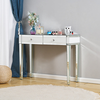 Panana Minimalism Bedroom Furniture Beautify Mirrored Dressing Table Console table Corner table Dresser Fast Ship to Europe