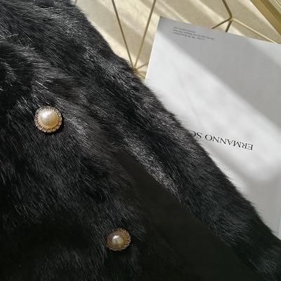 2019 New Style High-end Fashion Women Faux Fur Coat S102