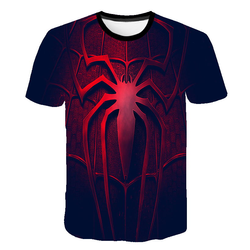 Spiderman 3D Boys Clothes T-shirt Kids Super Hero 3D Baby Boys T-Shirts For Girls Child T-Shirt Children Clothing Shirt