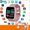 2021 דיגיטלי שעון X1 נשים גברים שעוני יד ספורט Bluetooth עמיד למים חכם צמיד לנשים גברים גבירותיי יד שעונים שעון