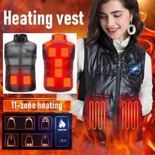 11 зон теплая одежда интеллектуальный контроль температуры электрический