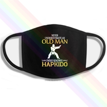 Mouth-Mask Hapkido-Printing Underestimate Washable Cotton Who Knows Never Old-Man