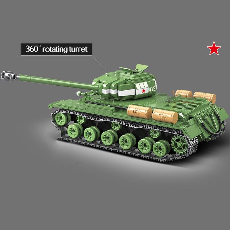 Купить горячая 1068 шт ww2 военная советская россия is 2m тяжелый танк