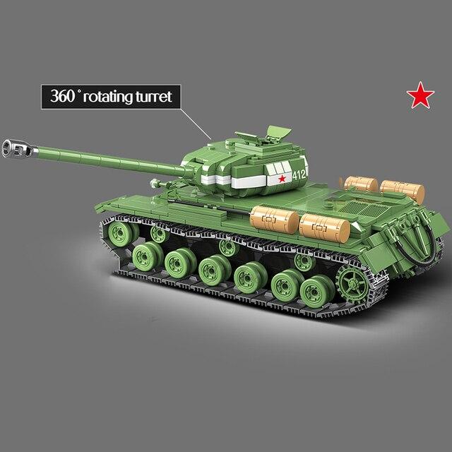 Фото горячая 1068 шт ww2 военная советская россия is 2m тяжелый танк цена