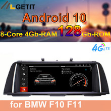 Автомагнитола на Android 10, стерео, мультимедийный плеер, GPS-навигация для BMW 5 серии F10 F11 2010-2016, система CIC NBT