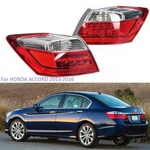 цена на YTCLIN LED Tail Light for HONDA ACCORD 2013 2014 2015 2016 1 Pcs Left/Right Park DRL Brake Signal Lights Car Light Assembly