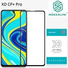Nillkin XD CP + מקס מזג זכוכית עבור Xiaomi Redmi הערה 9S הערה 9 פרו מקס Poco M2 פרו מגן oleophobic מלא מסך דבק