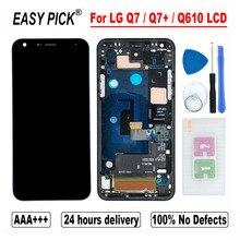 Dla LG Q7 / Q7 + Q610 Q610MA Q610TA Q610YB CV5A Q610EA MT6750S Q610NM Q610EQ Q610M wyświetlacz LCD montaż digitizera ekranu dotykowego