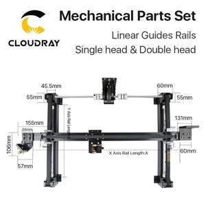 Image 5 - Cloudray ensemble de pièces mécaniques, kit Laser 1300x900mm, pièces de rechange pour Machine Laser CO2 1390 à bricolage