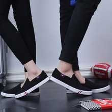 Women Classics Skateboarding Canvas Shoes Fashion Sneakers Unisex Plus Size Vulcanize Woman Flats Low-cut Slip-on Casual