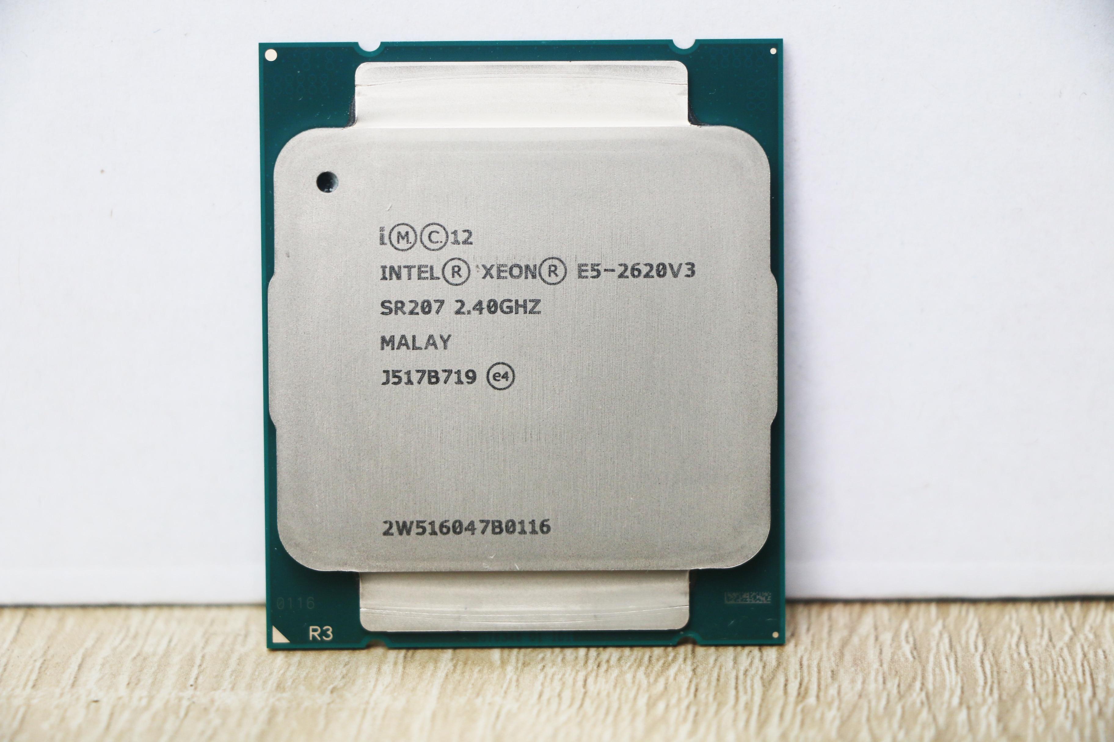 Intel Xeon E5 2620 V3  E5-2620 V3 procesador SR207 2,4 Ghz 6 Core 85W Socket LGA 2011-3 CPU E5 2620V3-1