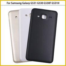 10 sztuk G530 obudowa Case do Samsung Galaxy wielki Prime G530H G530F G531H G531 pokrywa baterii drzwi tylna pokrywa tylne podwozie