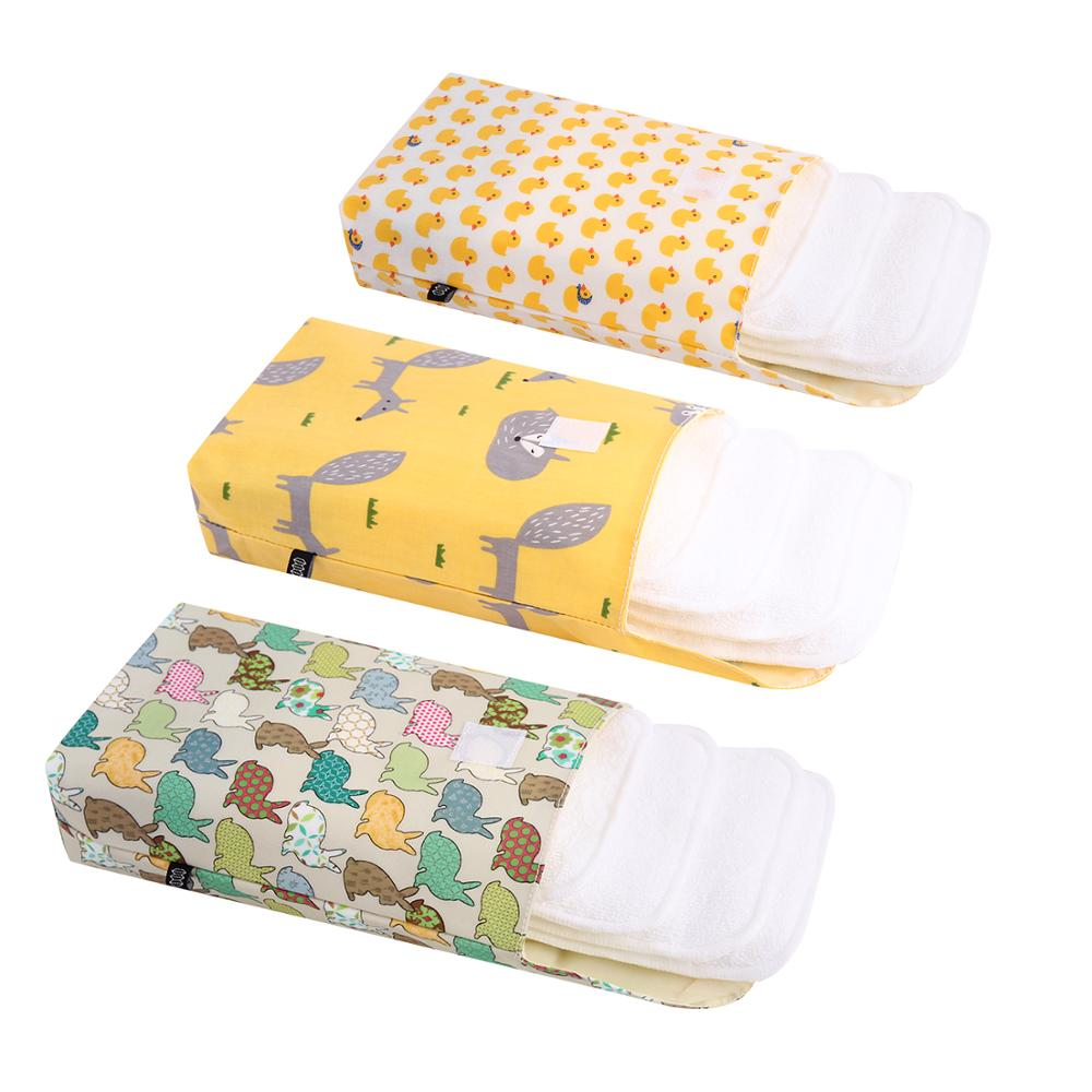 New Waterproof Fashion Prints Wet/Dry Bag Mummy Storage Bag Travel Nappy Bag Luiertas Reusable For Baby Nappy Caddy Organizer