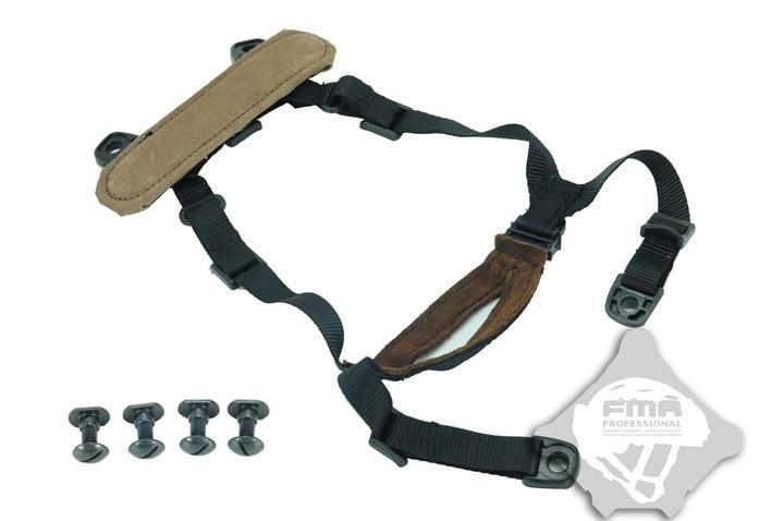 fma caça mich capacete sistema de retenção h-nuca