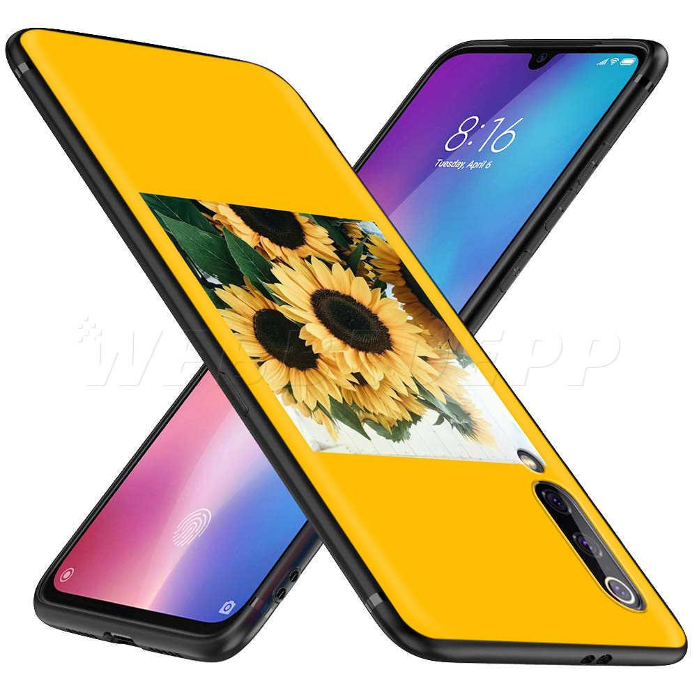 美容黄色ひまわりケース xiaomi Redmi 4A 4 × 5 5A 6 6A 7 7A S2 注行く K20 プロプラスプライム 8T