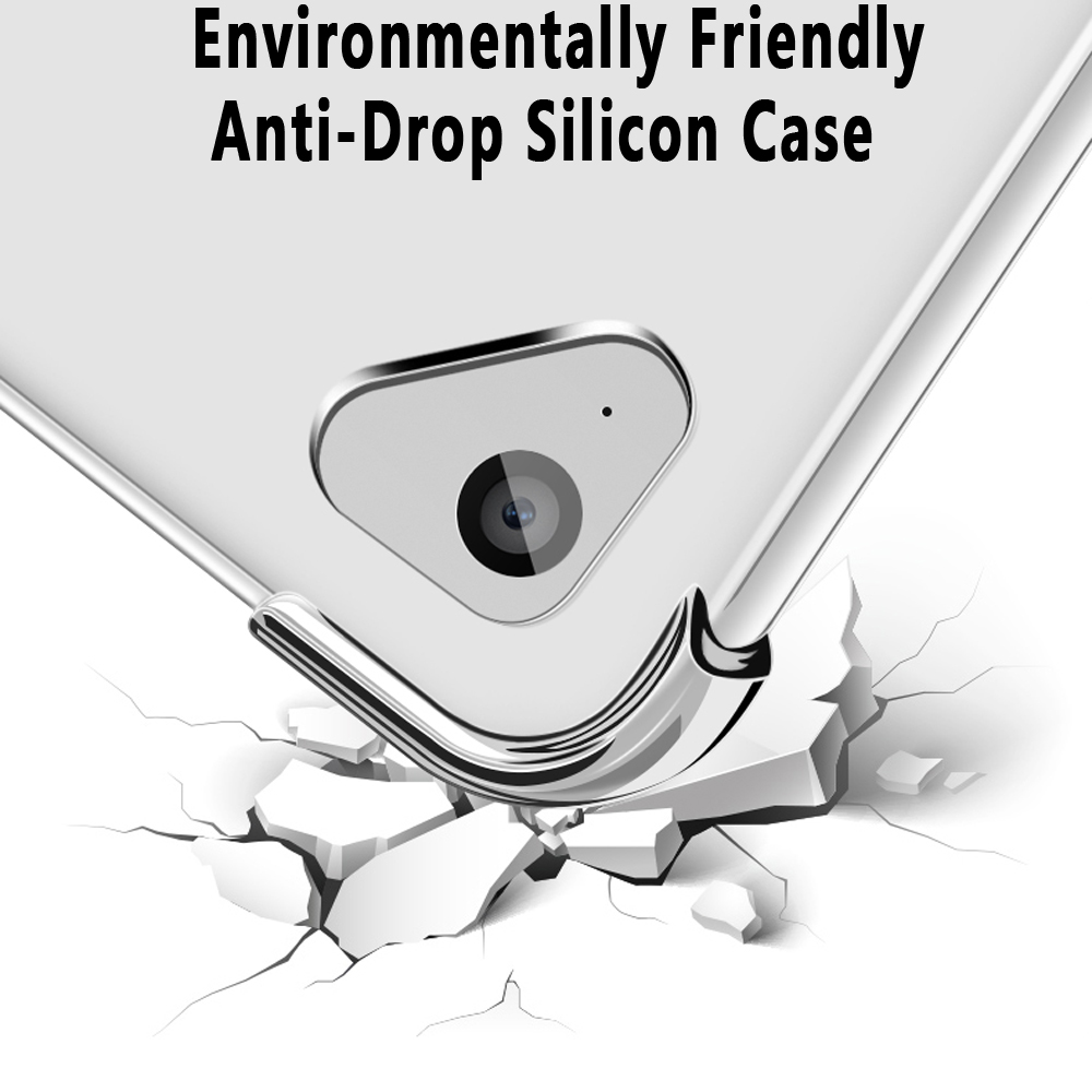 Pro 12.9 2018 Silicone 2020 2015 Soft For A1652 Slim Ultra A1584 iPad Cover Case 2017