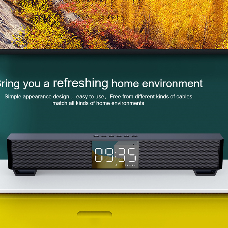 mifa Soundbar K3 Bluetooth Speaker 2 Stereo Sound Big Digital Display Wireless Bluetooth 5.0 Support TWS 5
