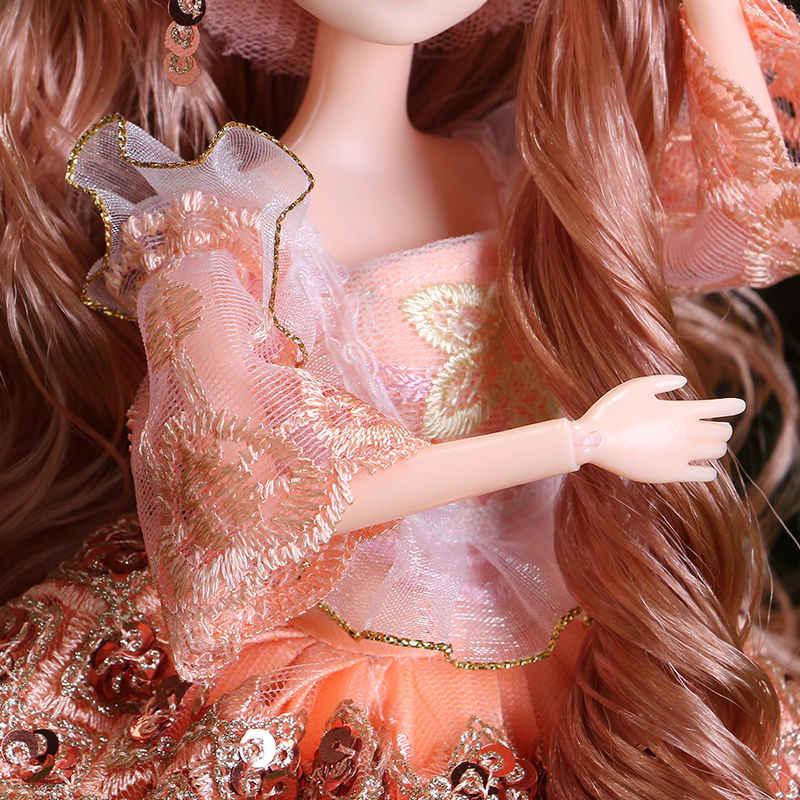 1/6 Vestido de Noiva Boneca PARA 11 30CM Boneca brinquedos de Alta Qualidade Chinesa Boneca BJD BJD Joint Bola Conjunta Boneca moda Presente Da Menina