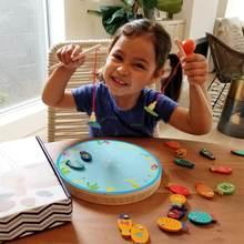 Магнитная деревянная рыболовная игра игрушка для малышей алфавит