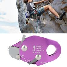 Engranaje de descenso de escalada, descenso de parada de autofrenado para abrazadera de cuerda de 9 13mm, anillo de Rappel de rescate, equipo de seguridad de engranaje de escalada