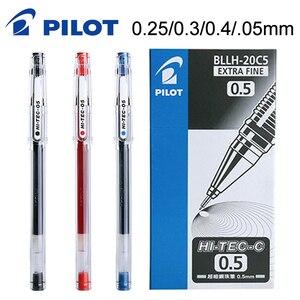 Image 1 - 10 قطعة الطيار HI TEC C هلام القلم BLLH 20C3 BLLH 20C4 BLLH 20C5 0.3 مللي متر 0.4 مللي متر 0.5 مللي متر 0.25 مللي متر المالية القلم اليابان