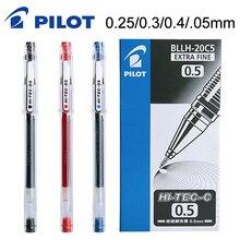 10 stück PILOT HI TEC C Gel Stift BLLH 20C3 BLLH 20C4 BLLH 20C5 0,3mm 0,4mm 0,5mm 0,25mm Finanz Stift Japan