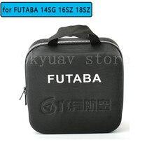 FUTABA Radiolink Wfly Wasserdichte Sender Fernbedienung Durchführung Koffer Koffer Hand Tasche Box für 14SG 16SZ 18SZ AT9S ET07 WFT