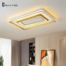Металлическая Светодиодная потолочная лампа для фойе гостиной