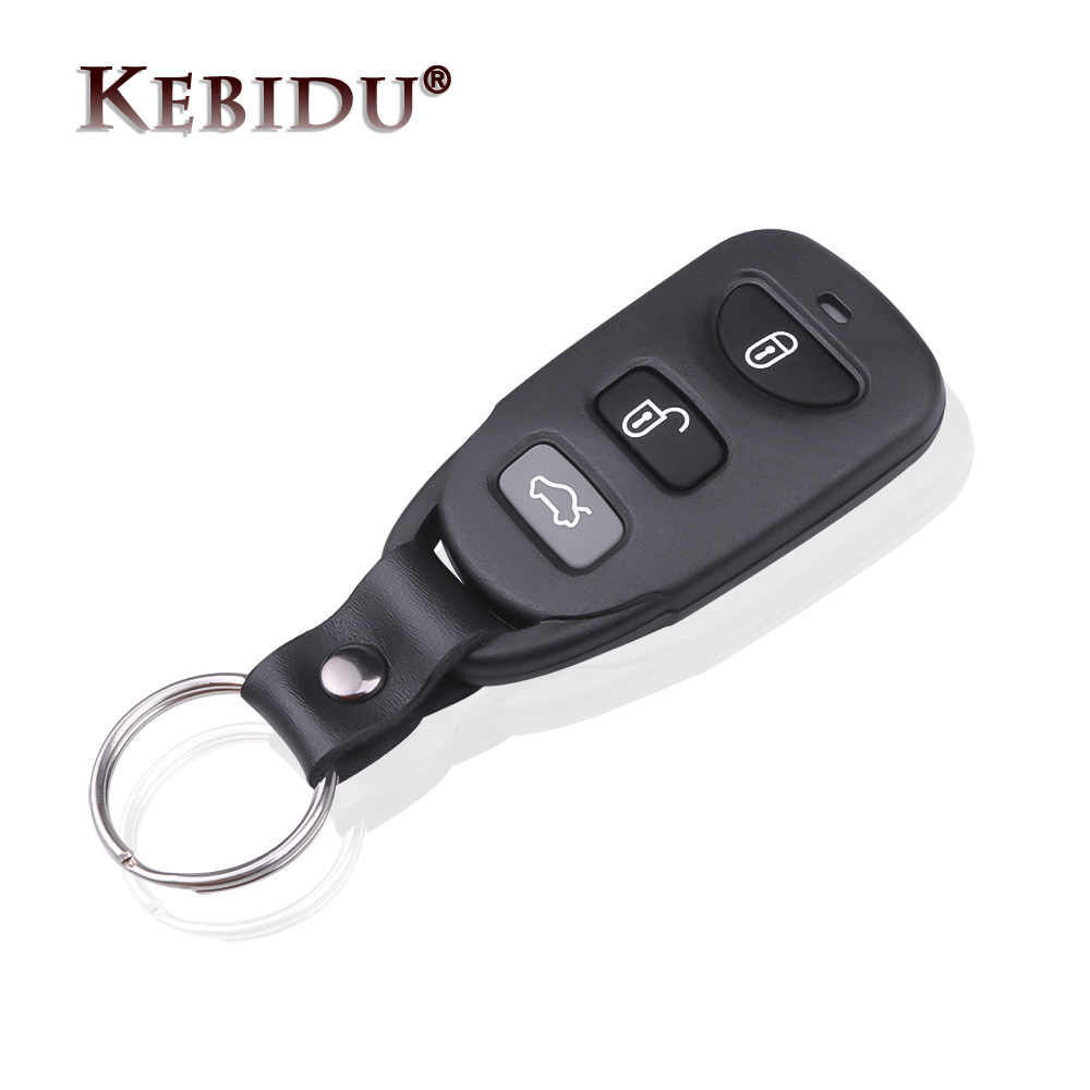 Wireless Universal 3 Key Metal Clone Remote Control Copy para Electric Gate Garage Door Clone Remote Control Key