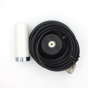 Image 4 - Antena HH N2RS banda dupla para carro, rádio móvel uhf vhf 400 470 136 174mhz m, interface com base de ímã de 5 metros